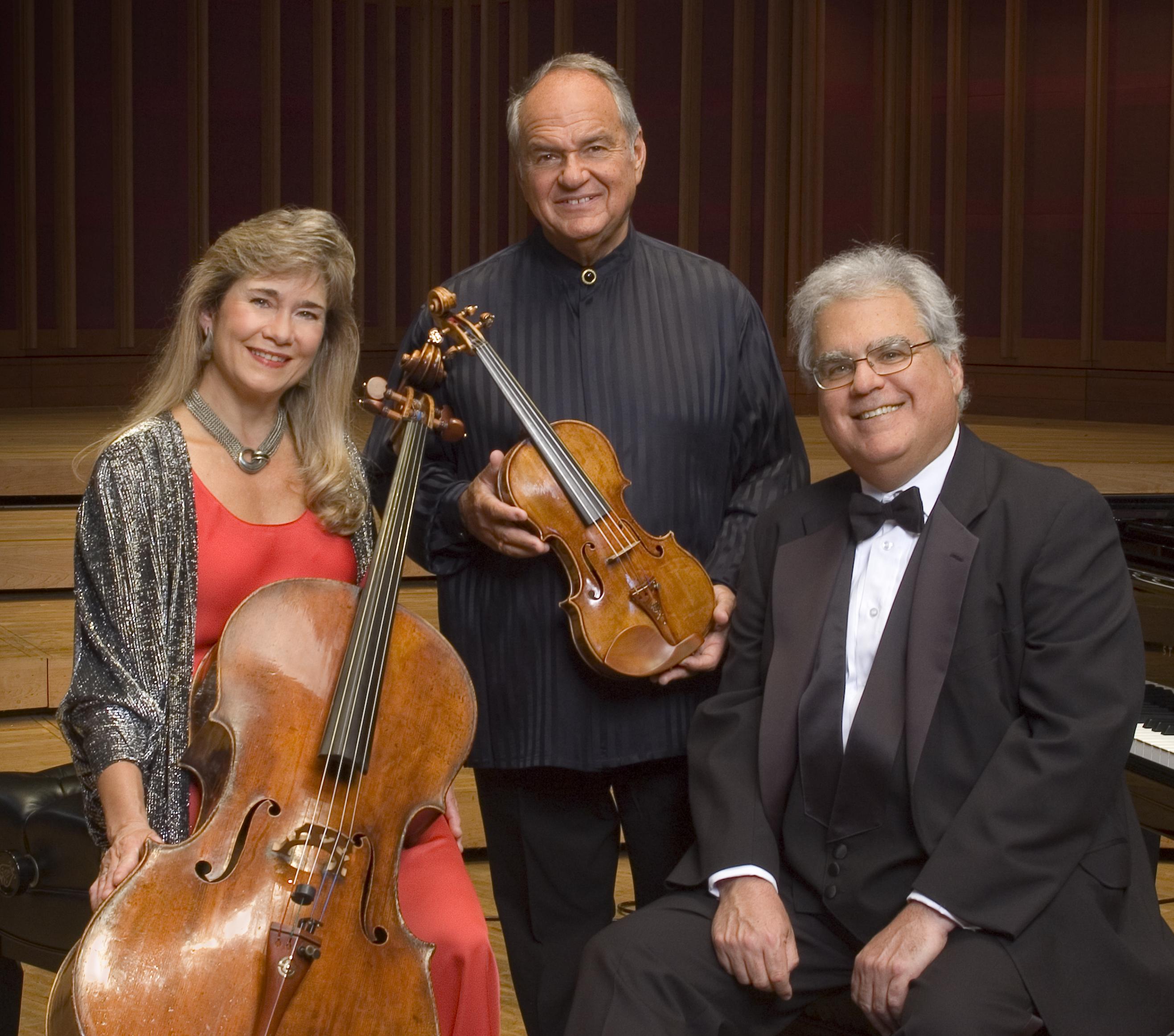 Kalichstein Laredo Robinson Trio Tickets Irvine Barclay Theatre