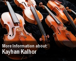 Kayhan Kalhor Tickets New York