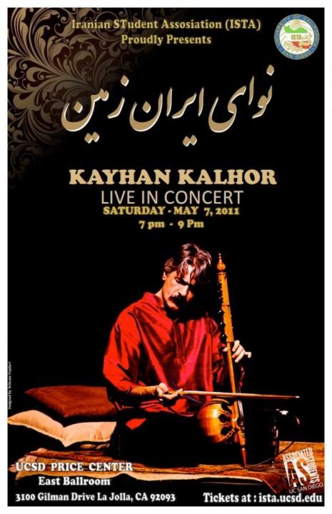 Tickets Show Kayhan Kalhor