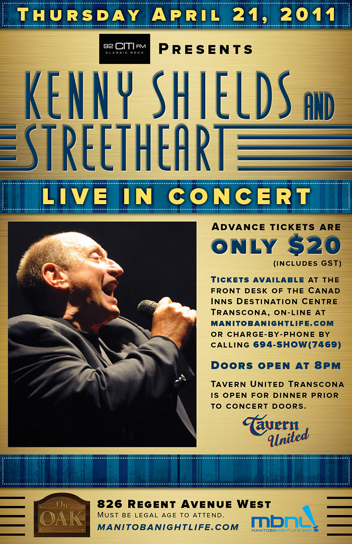 Kenny Shields Tickets Edmonton Event Centre