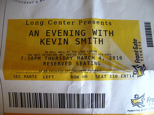 Kevin Smith Warfield Tickets