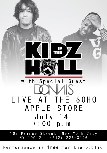 2011 Kidz In The Hall Tour Dates