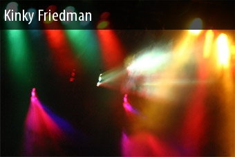 Show Tickets Kinky Friedman