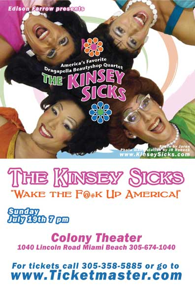 Kinsey Sicks Tickets Stiefel Theatre For The Performing Arts