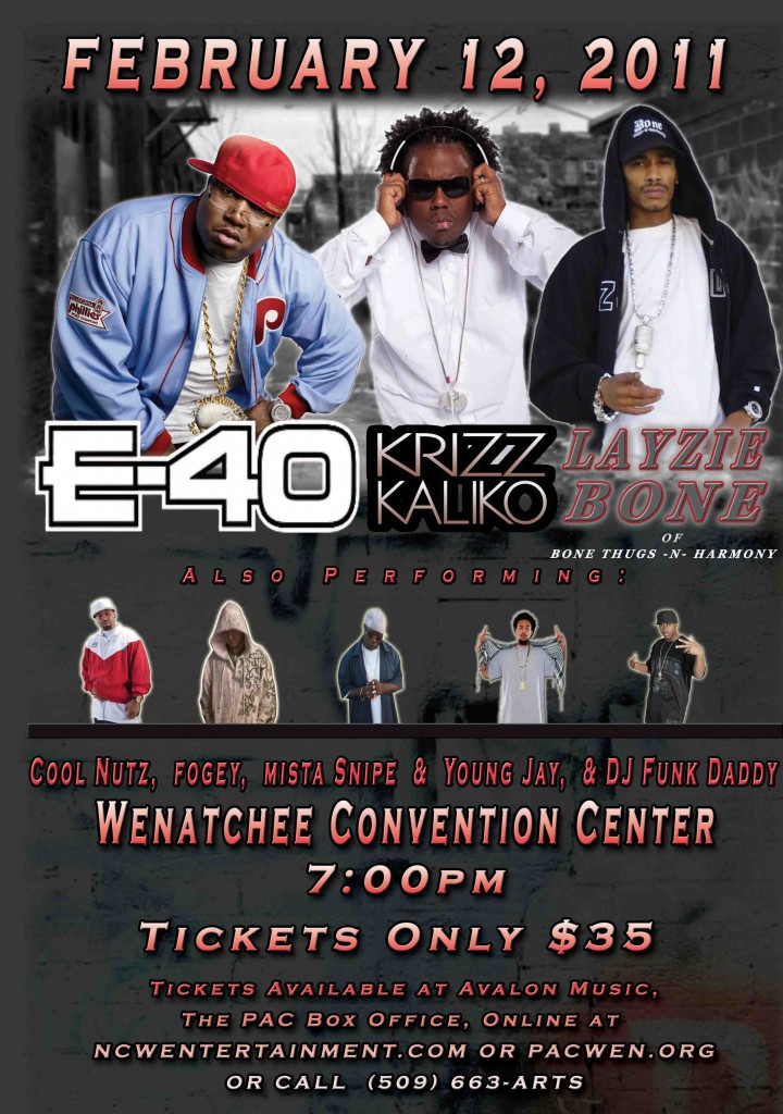 Krizz Kaliko Beaumont Club Tickets