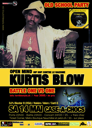 Kurtis Blow Jazz Cafe Tickets