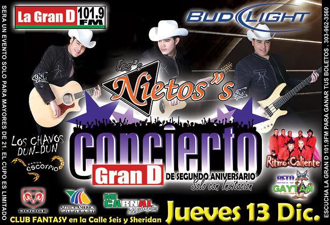 Tickets Show La Gran Banda