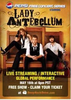 Tickets Lady Antebellum