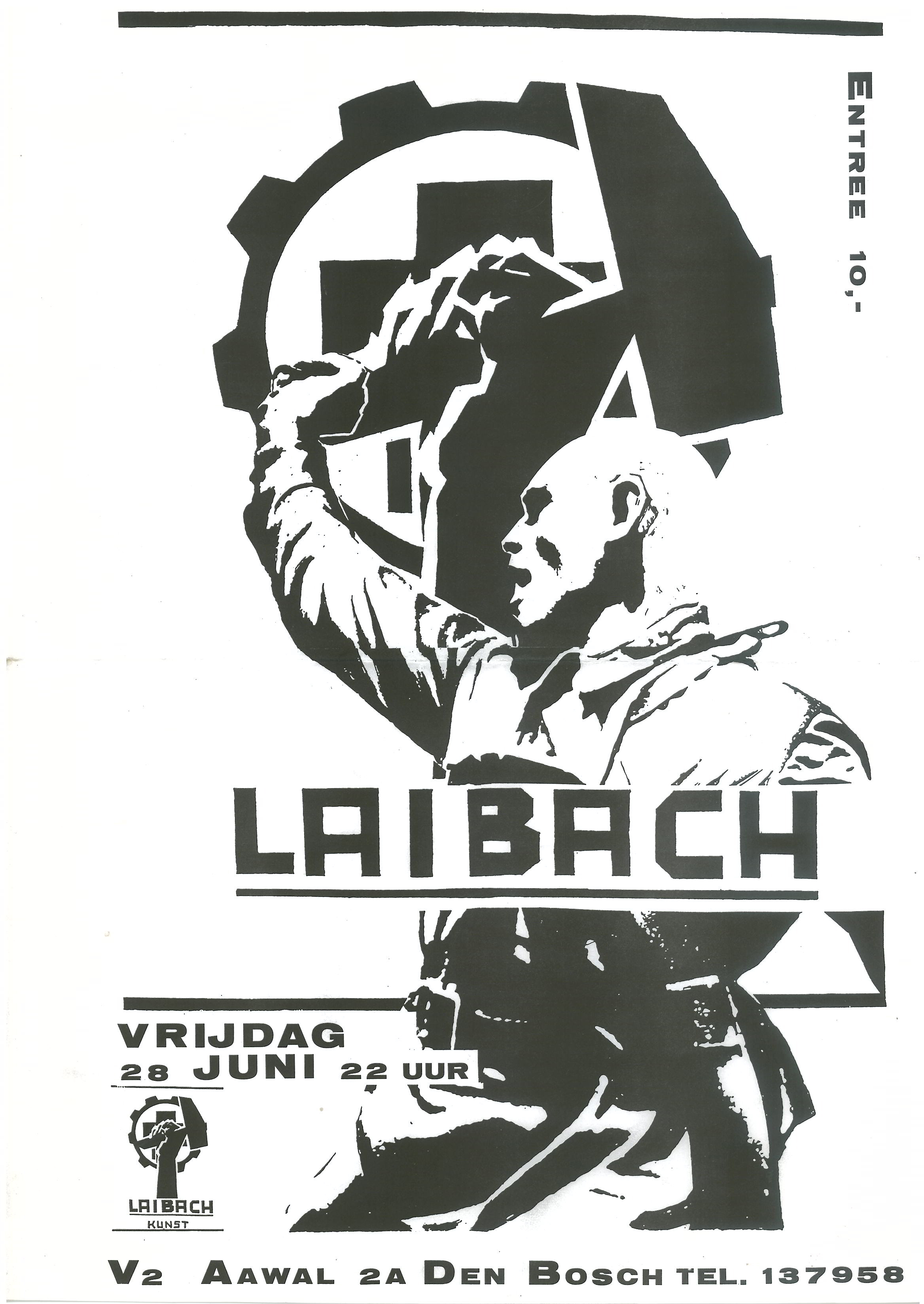 Laibach Tickets Irving Plaza