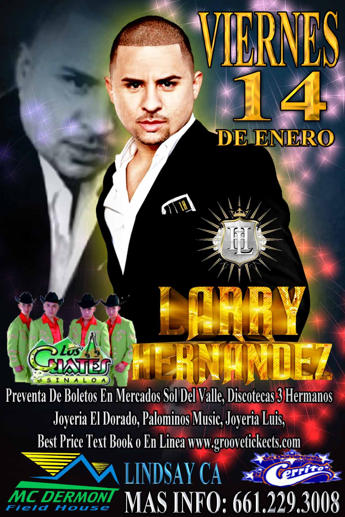 Larry Hernandez Tickets