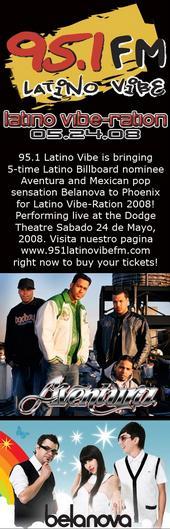 Latino Vibe Ration Comerica Theatre Tickets