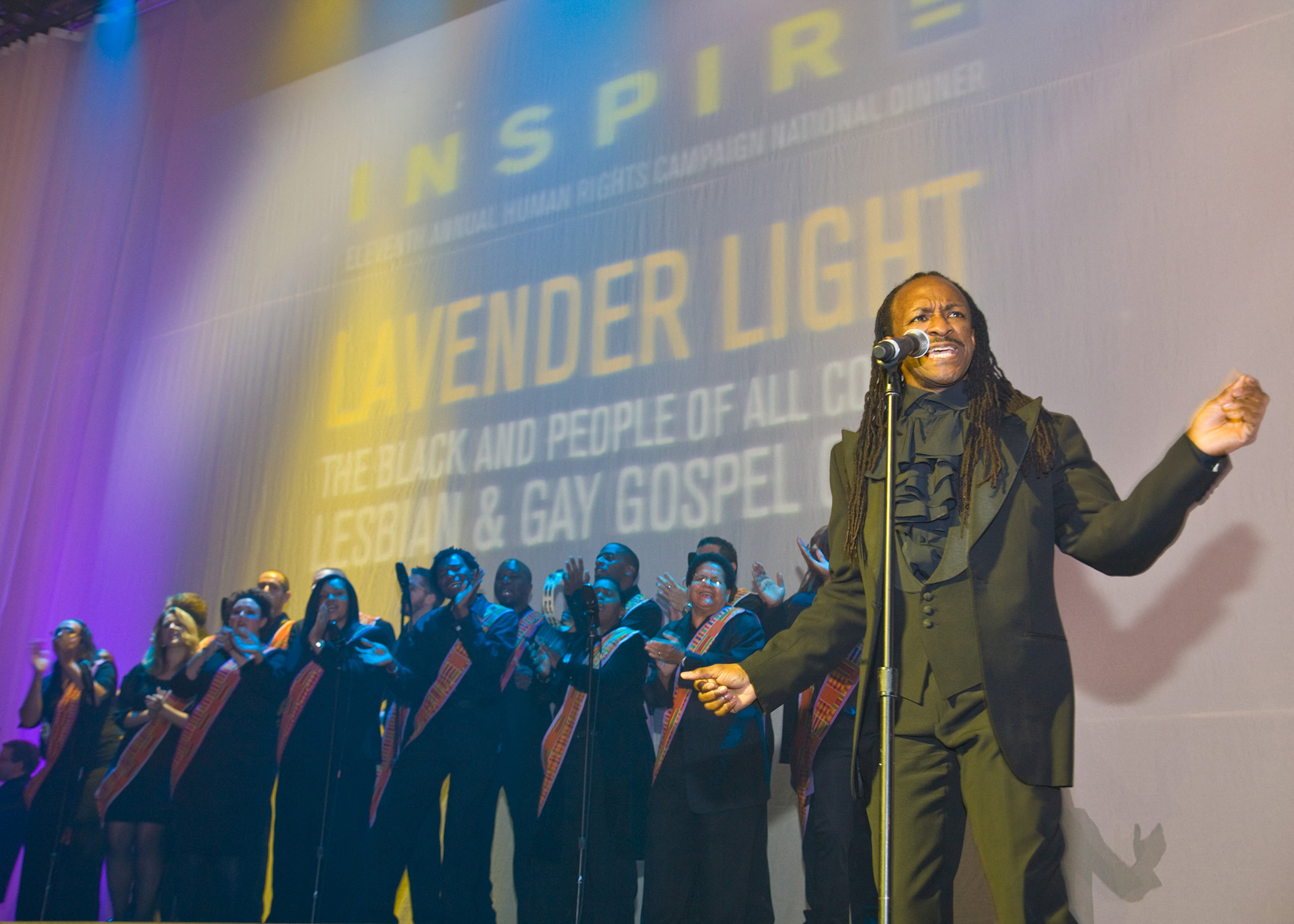 Lavender Light Gospel Choir Symphony Space Peter Jay Sharpe Theatre