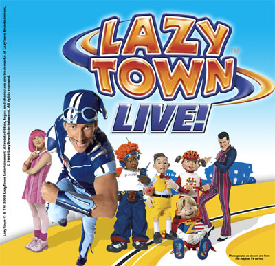 Show Tickets Lazytown Live The Pirate Adventure