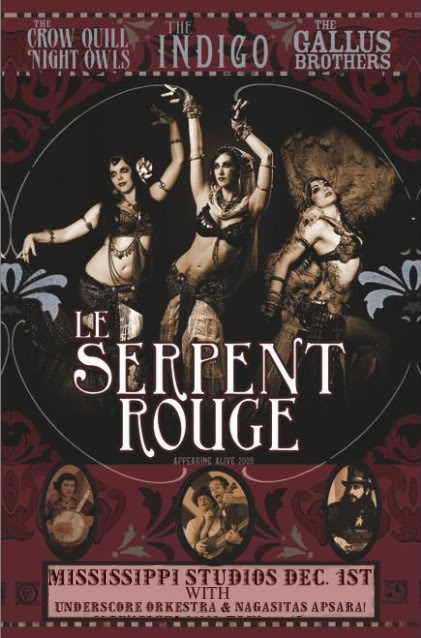 Concert Le Serpent Rouge