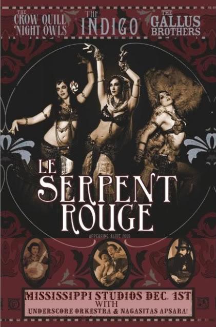 Concert Le Serpent Rouge