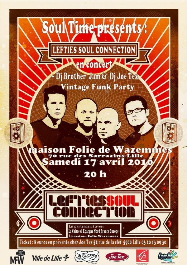 Concert Lefties Soul Connection