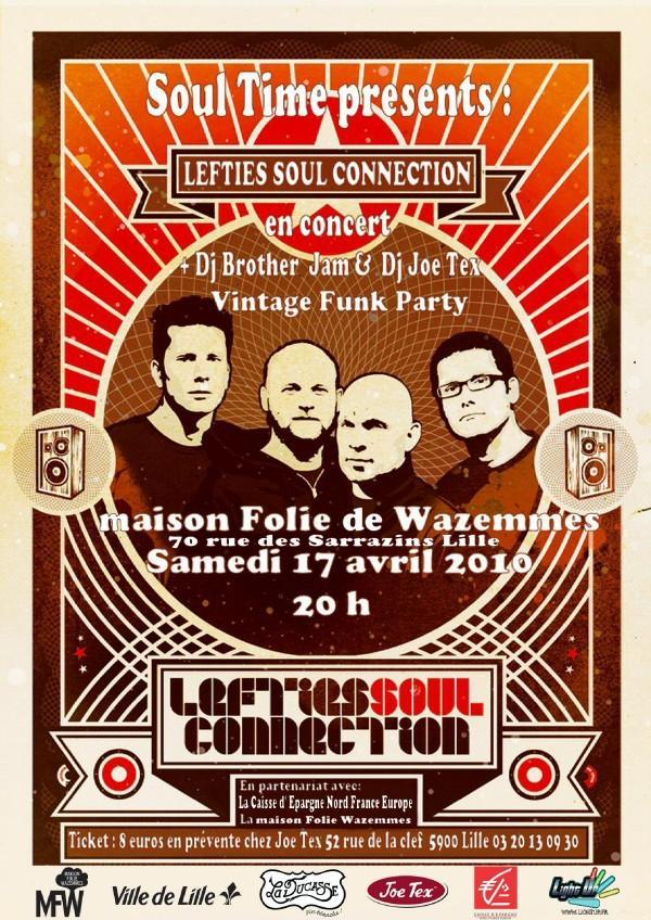 Concert Lefties Soul Connection