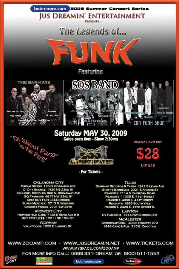 Legends Of Funk Potawatomi Casino
