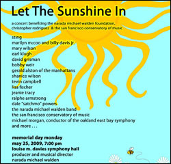 Let The Sunshine In San Francisco Tickets