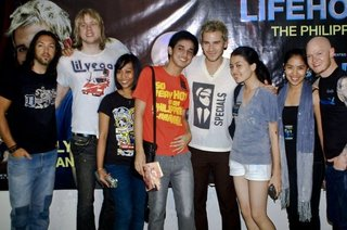 Dates 2011 Lifehouse