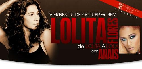 Tickets Lolita Flores Show