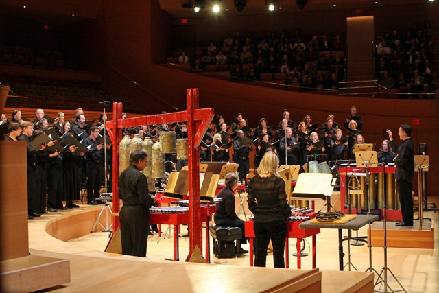 2011 Los Angeles Master Chorale Dates Tour