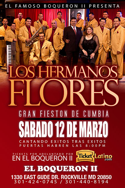 Tickets Los Hermanos Flores