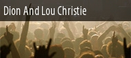 Dates 2011 Lou Christie