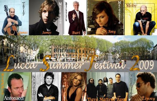 2011 Lucca Summer Festival