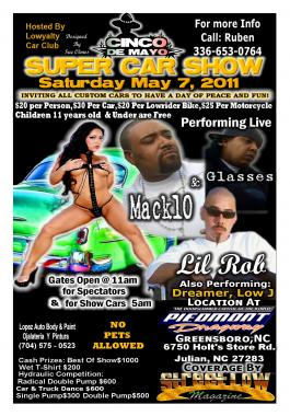 Tickets Show Mack 10