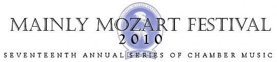 Concert Mainly Mozart Festival