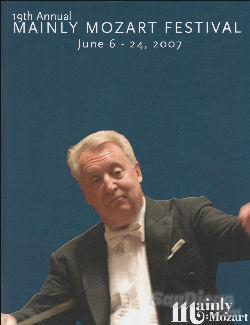 Mainly Mozart Festival Concert