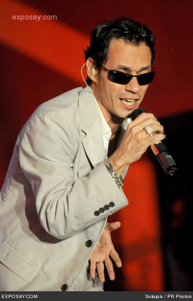Marc Anthony 2011 Show
