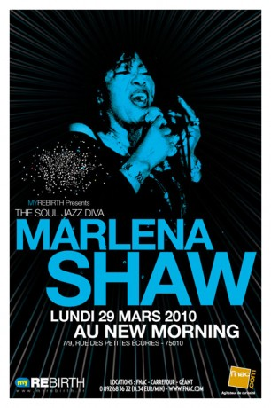 Marlena Shaw Dates 2011