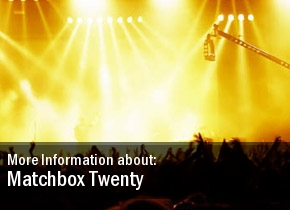 Tour Matchbox Twenty Dates 2011