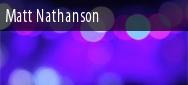 Matt Nathanson Tickets San Francisco
