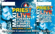Maxi Priest Tickets Showcase Live At Patriots Place
