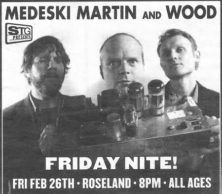 Tickets Medeski Martin And Wood