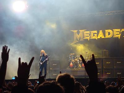 2011 Megadeth Dates Tour