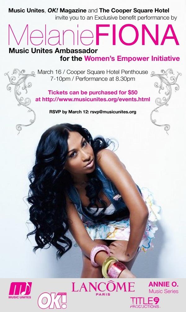 Melanie Fiona Dates Tour 2011