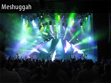 Meshuggah 2011 Show