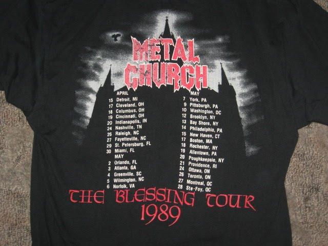 Dates 2011 Metal Church