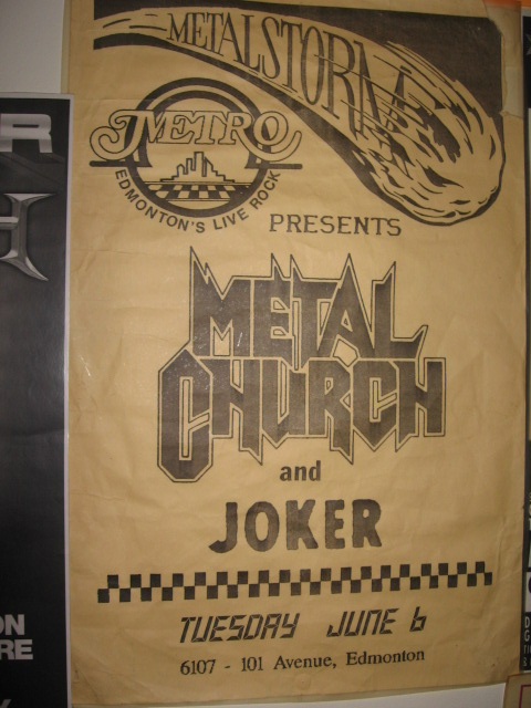Metal Church 2011 Dates