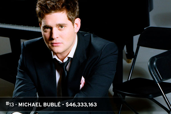 Michael Buble Tickets Show