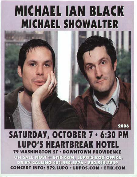Tickets Show Michael Ian Black