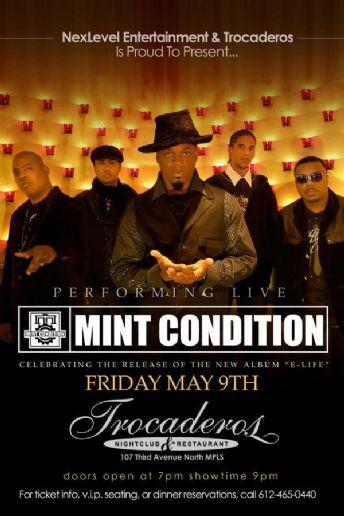 Mint Condition Concert