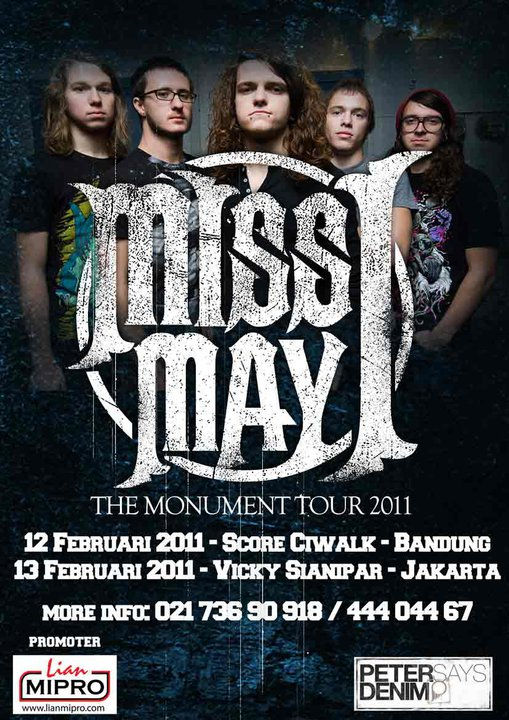 2011 Dates Miss May I