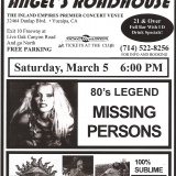 Missing Persons Show 2011