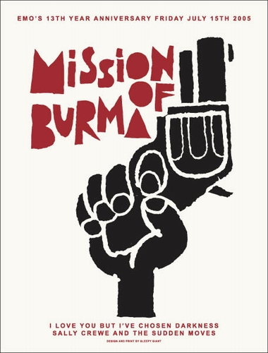 Mission Of Burma Pearl Street Nightclub