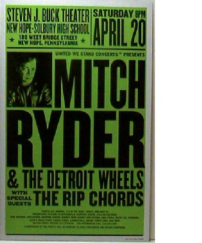 Mitch Ryder Dates 2011